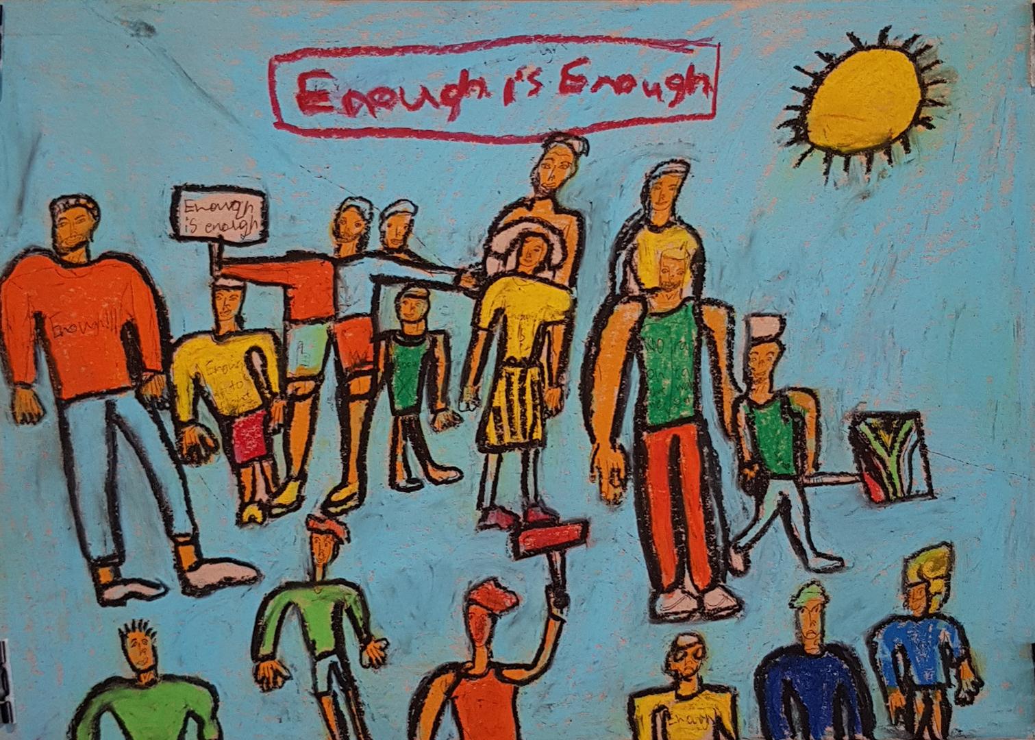 """ABULELE MAFILIKA """"Enough is Enough"""", 2019 R1 500"""